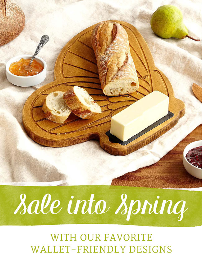 Sale into Spring