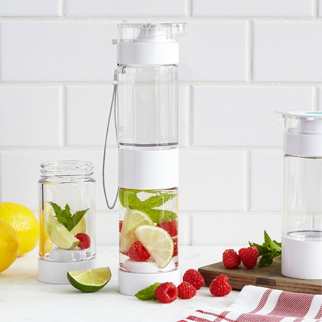 Flavor Fusion Water Bottle - UncommonGoods