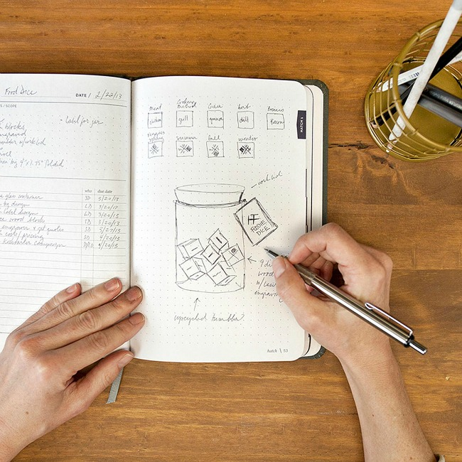 Hatch Ideas Notebook - UncommonGoods