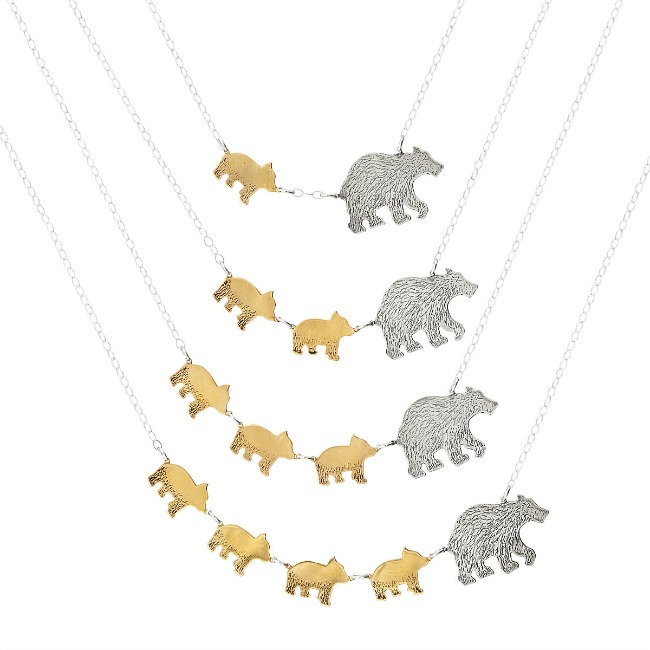 Mama Bear Necklace - UncommonGoods