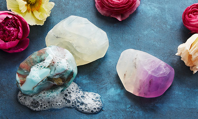 Birthstone Mineral Soaps | UncommonGoods
