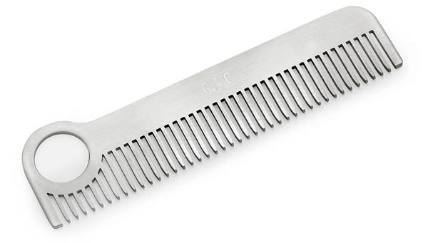 Custom Stainless Steel Comb | UncommonGoods