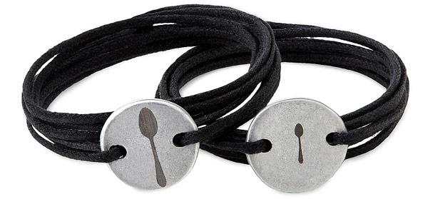 Couples Engraved Wrap Bracelets | UncommonGoods