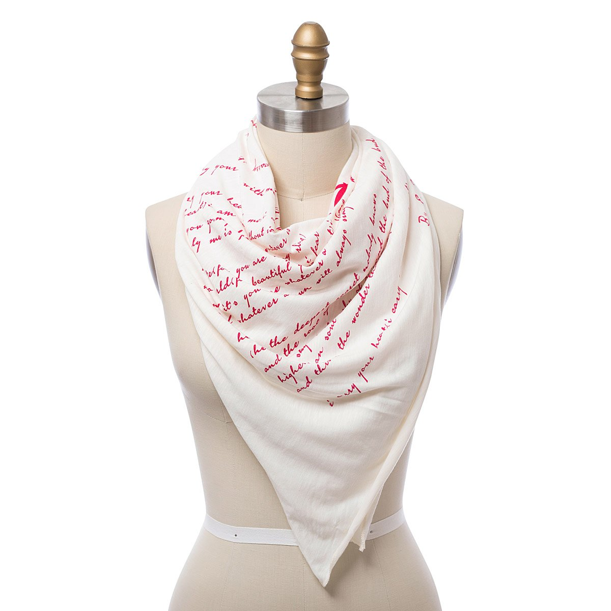 I Carry Your Heart Lightweight Scarf - UncommonGoods