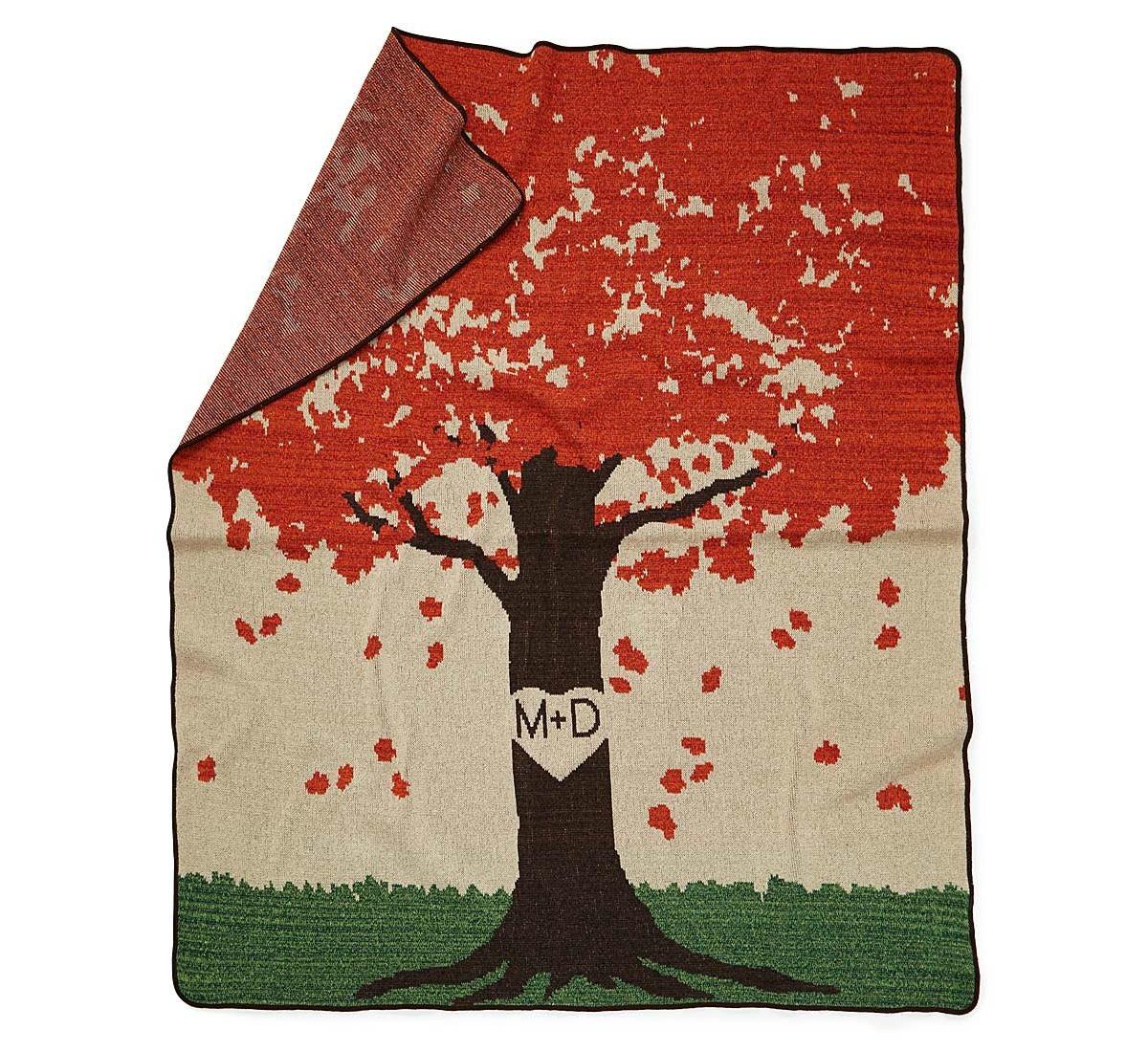 Personalized Tree Throw - UncommonGoods