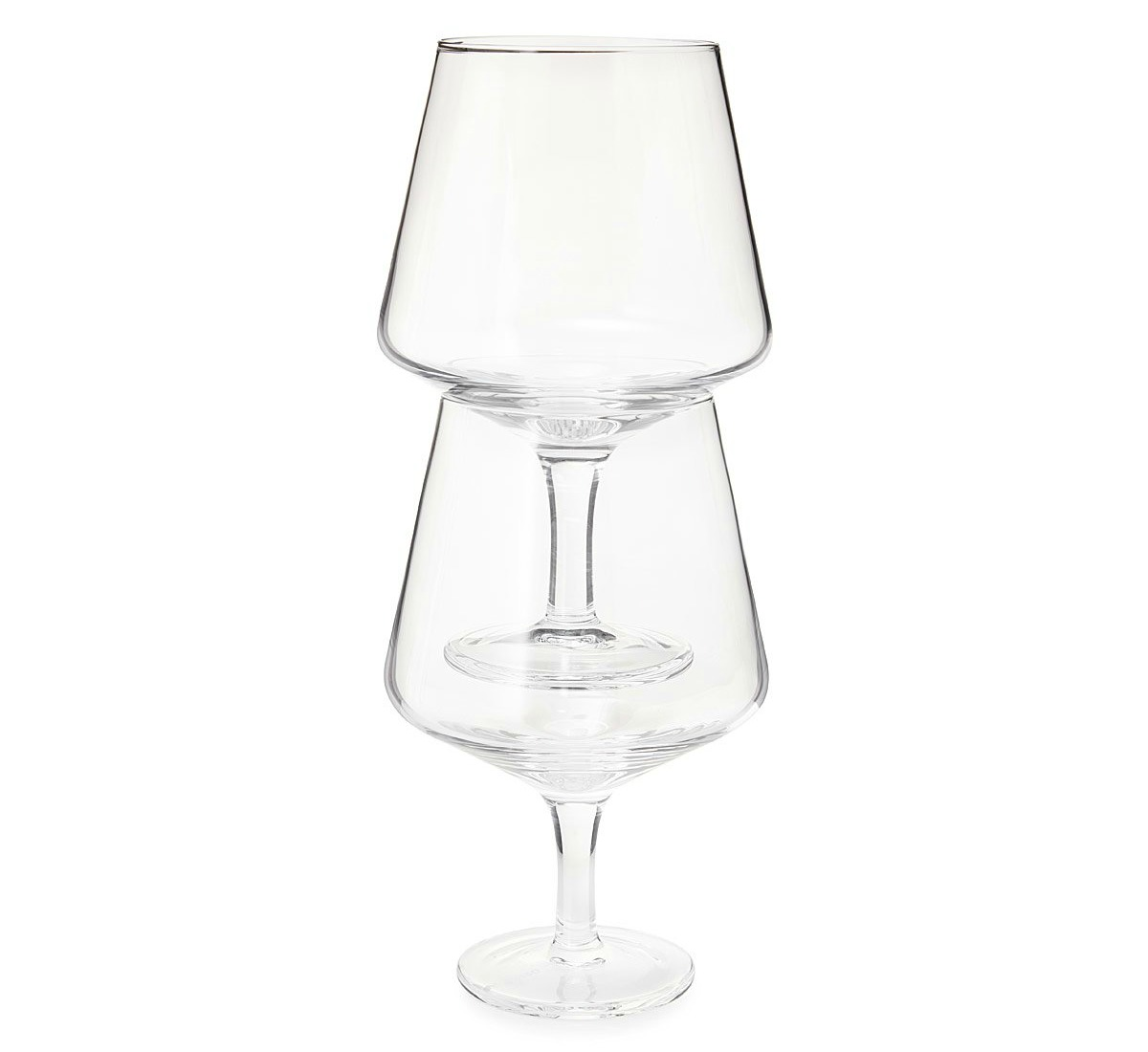 Stacking Wine Glass Set - UncommonGoods