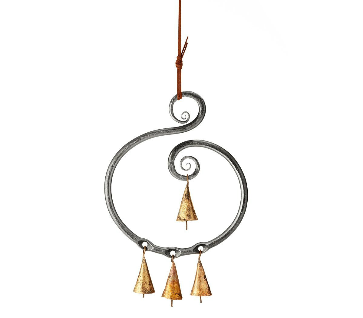 Steel Scroll Wind Chime - UncommonGoods