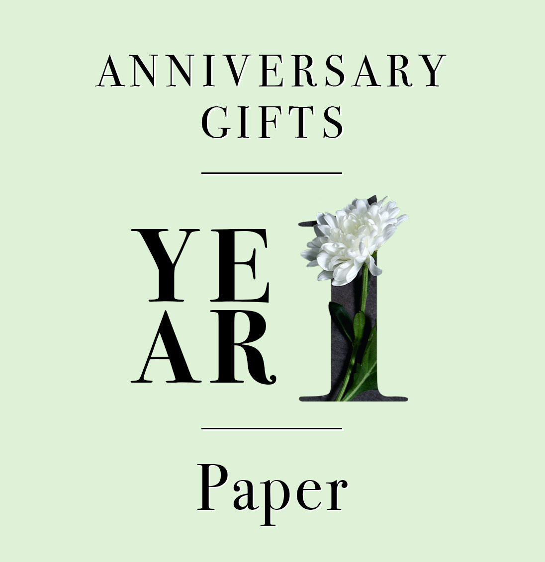 Our Guide To First Anniversary Gifts Looking Good On Paper