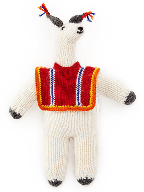 Llama With Poncho Plush | UncommonGoods