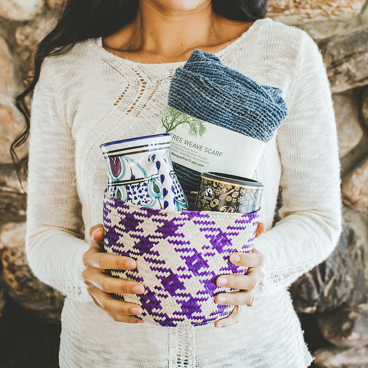 Cozy Global Gift Basket | UncommonGoods