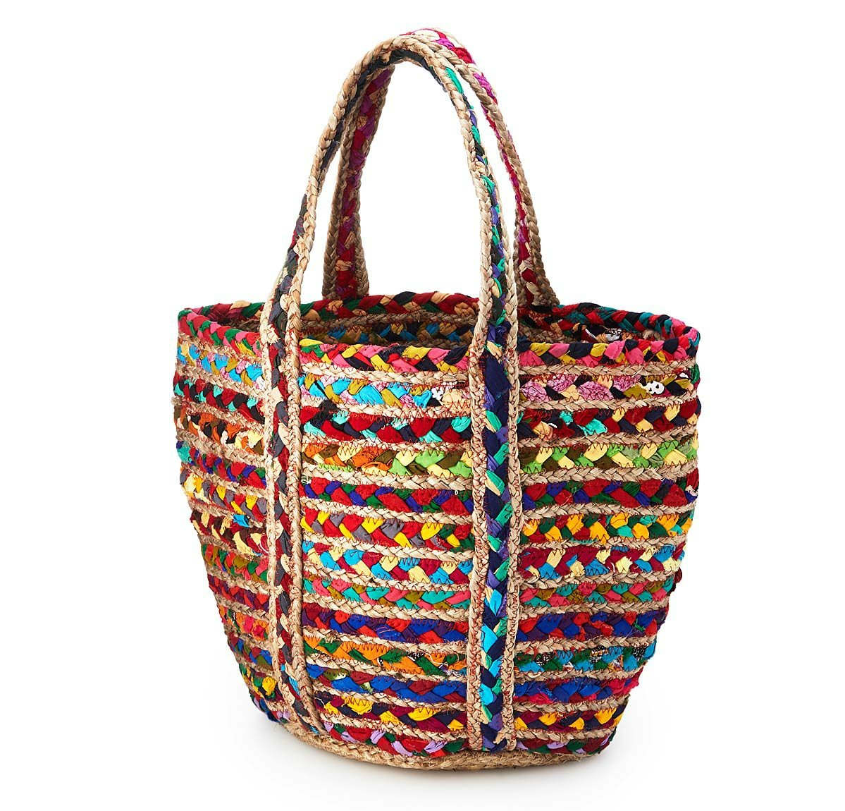 Upcycled Sari Tote Bag | UncommonGoods
