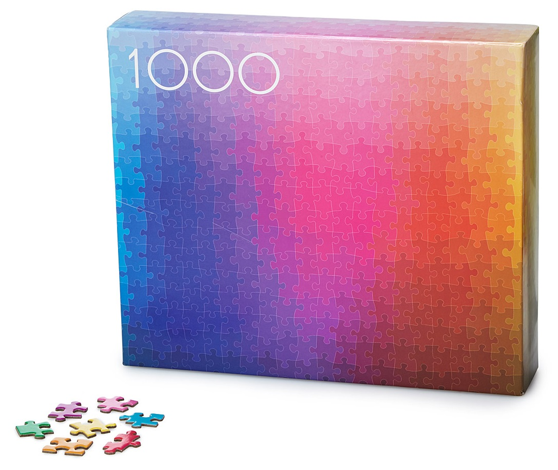 1000 Colors Puzzle | Creative Puzzles; Game Gifts | UncommonGoods
