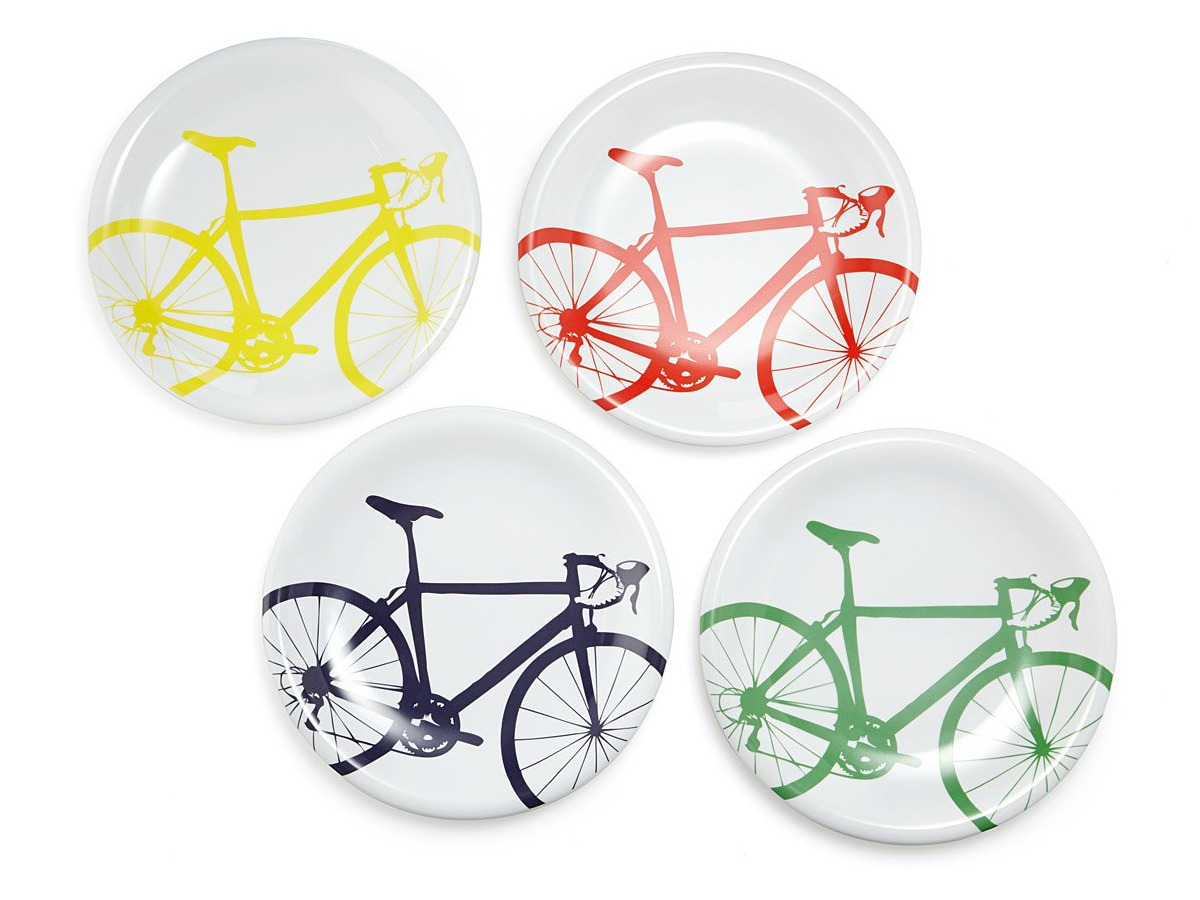 Bicycle Dinner Plates | UncommonGoods
