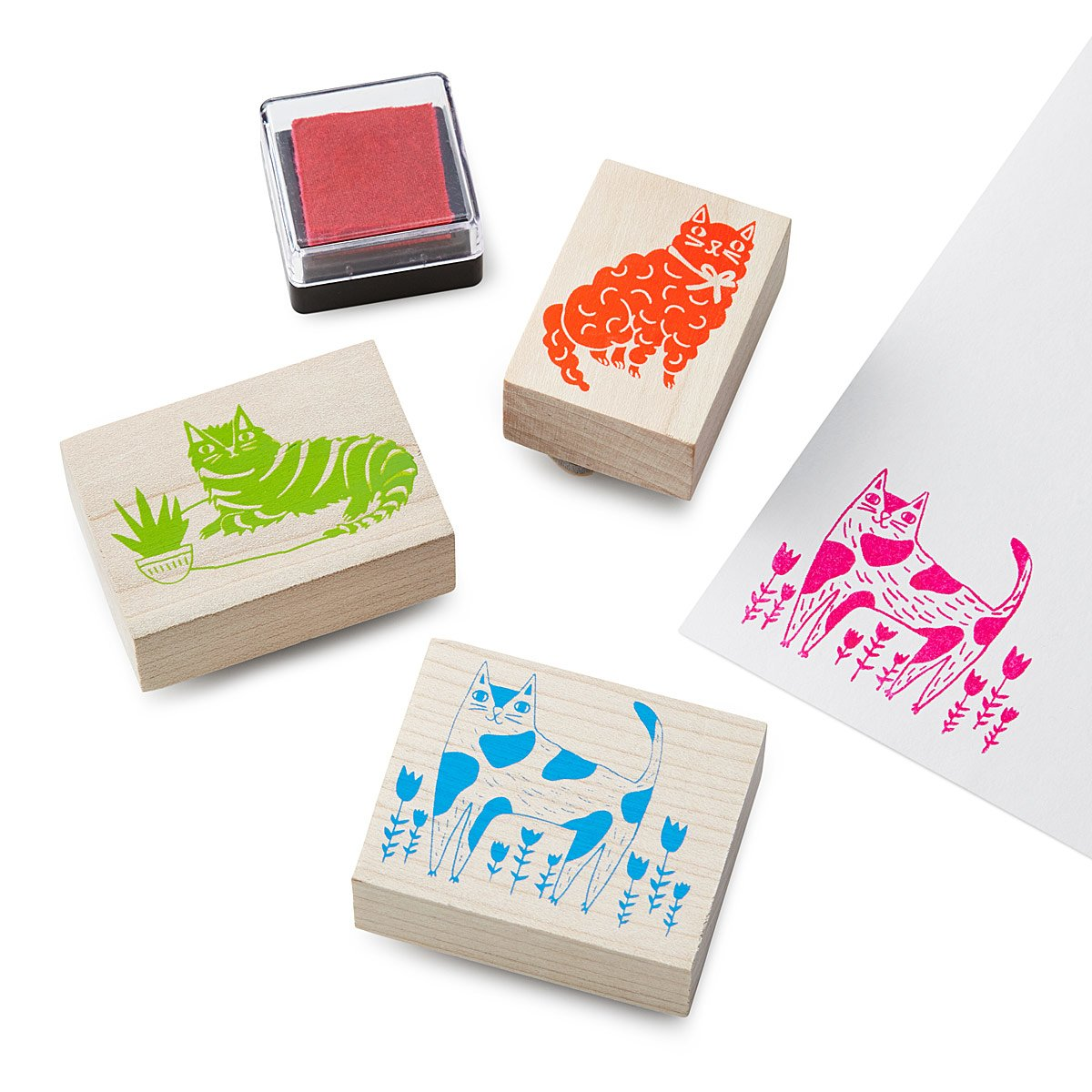Cats Stamp Kit | UncommonGoods