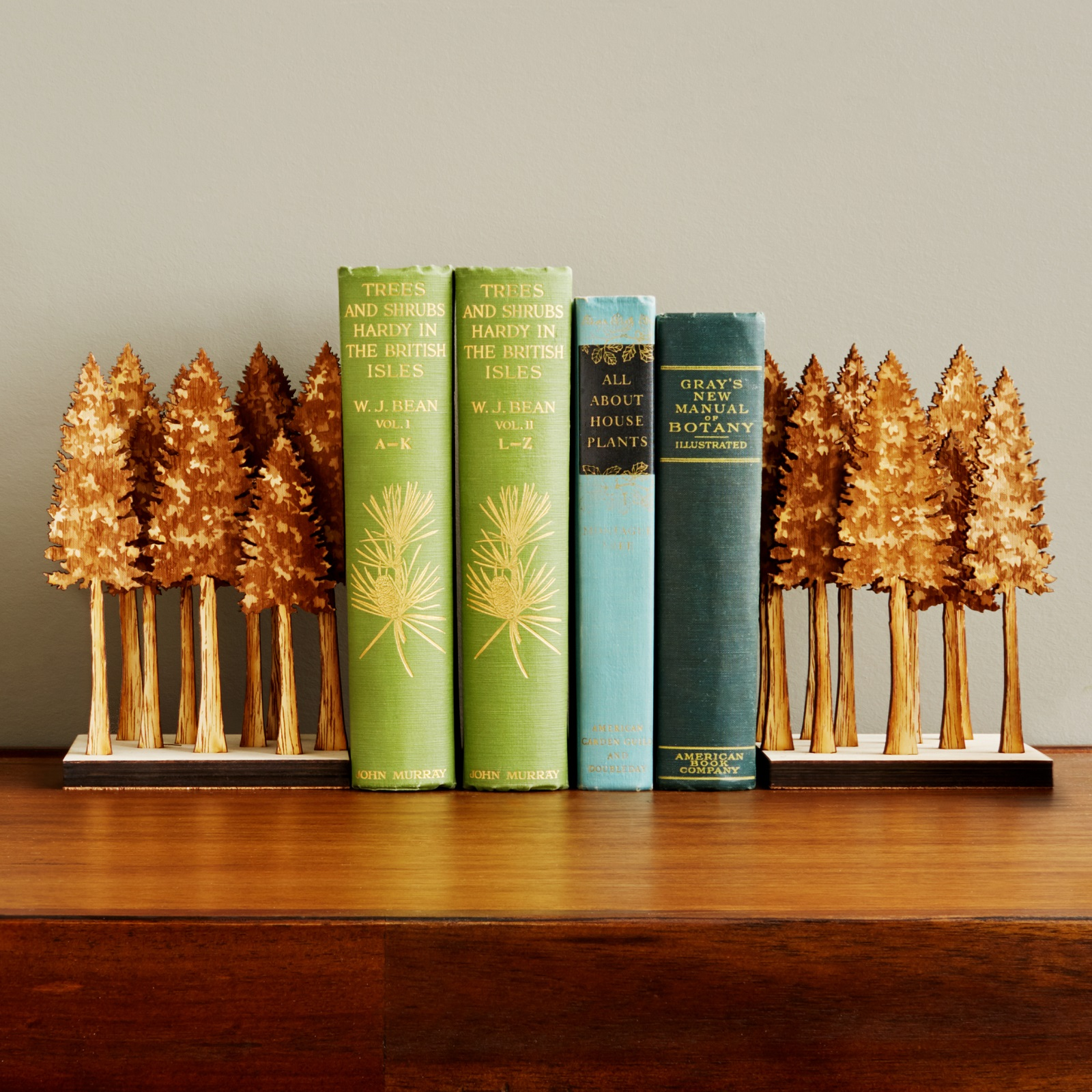 Majestic Forest Bookends | UncommonGoods