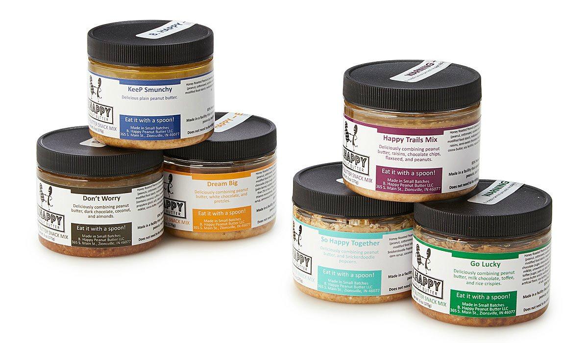 Peanut Butter Sampler   UncommonGoods