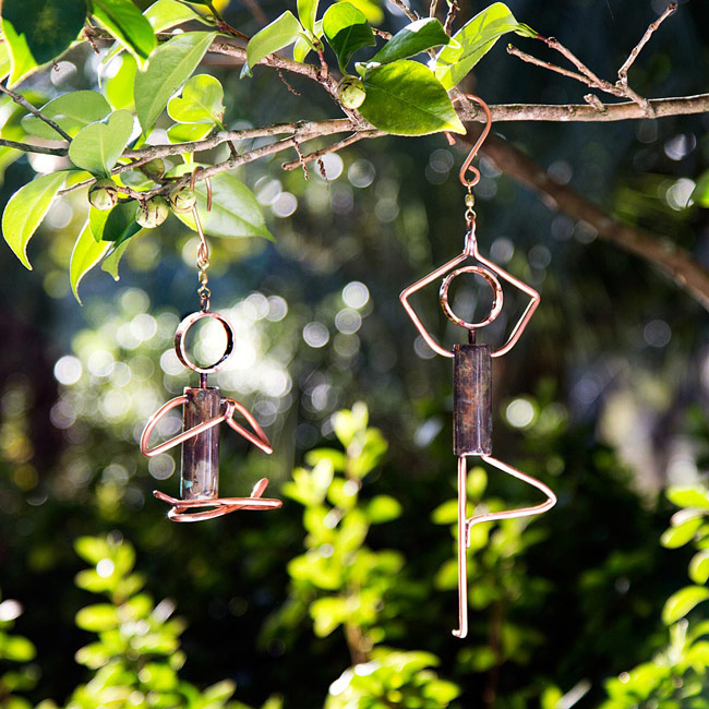 Yoga Pose Hanging Sculptures | UncommonGoods