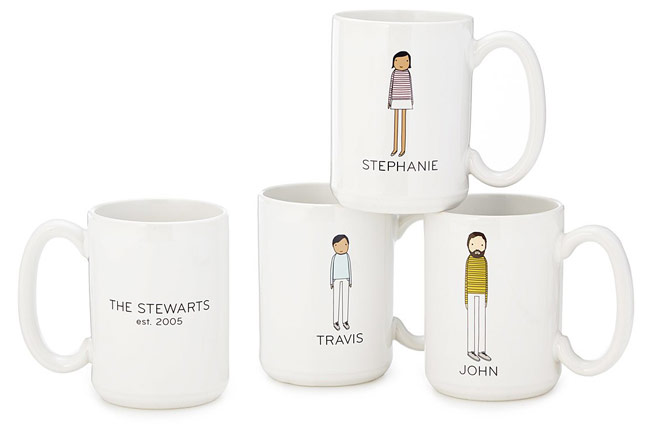 Personalized Family Mugs | UncommonGoods