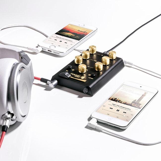 Pocket DJ Mixer | UncommonGoods