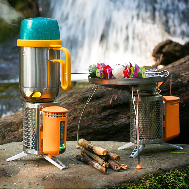 Portable Camp Grill and Charger | UncommonGoods