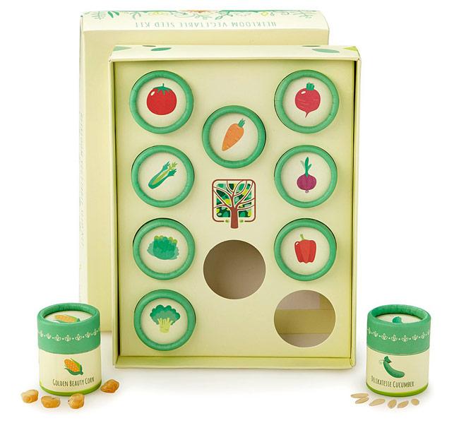 Heirloom Veggie Seed Kit | UncommonGoods