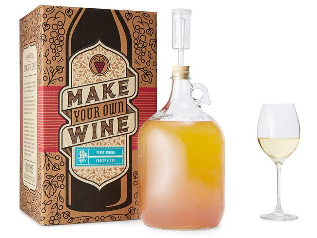 Pinot Grigio Wine Making Kit | UncommonGoods