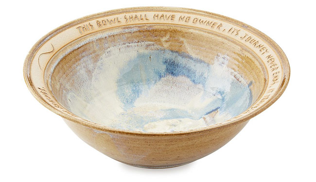 Circle of Family and Friends Serving Bowl | UncommonGoods