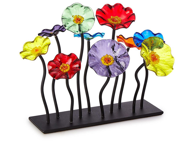 Glass Flower Garden Centerpiece | UncommonGoods