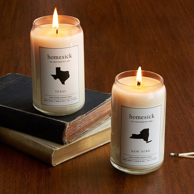 Homesick Candles | UncommonGoods