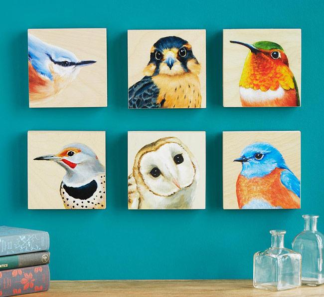 Bird Art Portrait | UncommonGoods