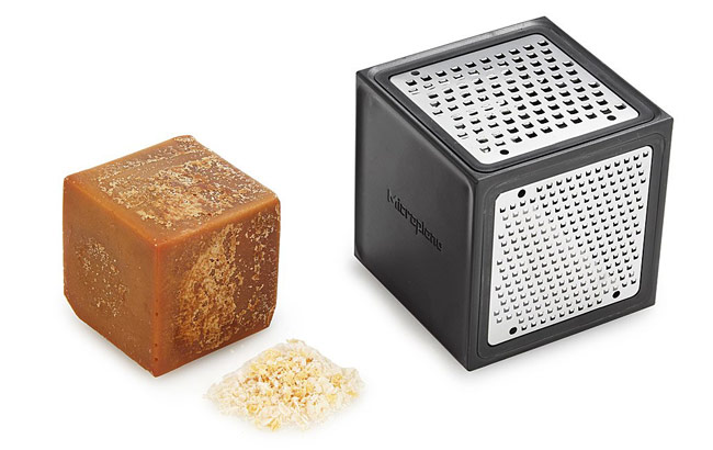 Pure Maple Sugar Cube & Grater Set | UncommonGoods