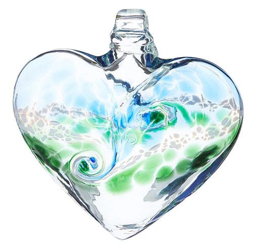 Glass Heart Window Charm | UncommonGoods