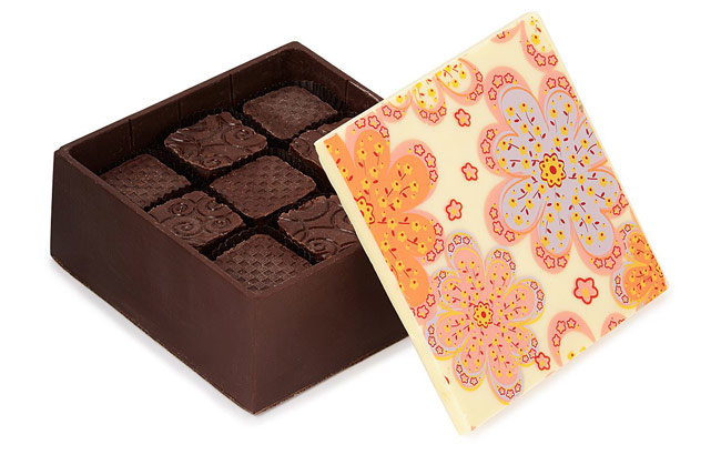 Edible Chocolate Box | UncommonGoods