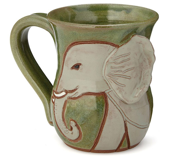 Protect the Elephants Mug | UncommonGoods