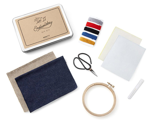 Embroidery Patch Kit | UncommonGoods