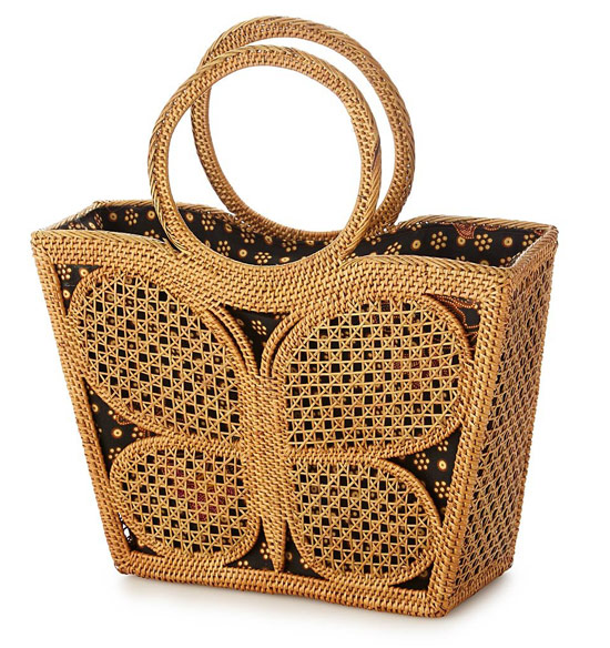 Butterfly Basket Bag | UncommonGoods