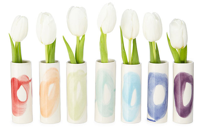 Rainbow Bud Vase Set | UncommonGoods