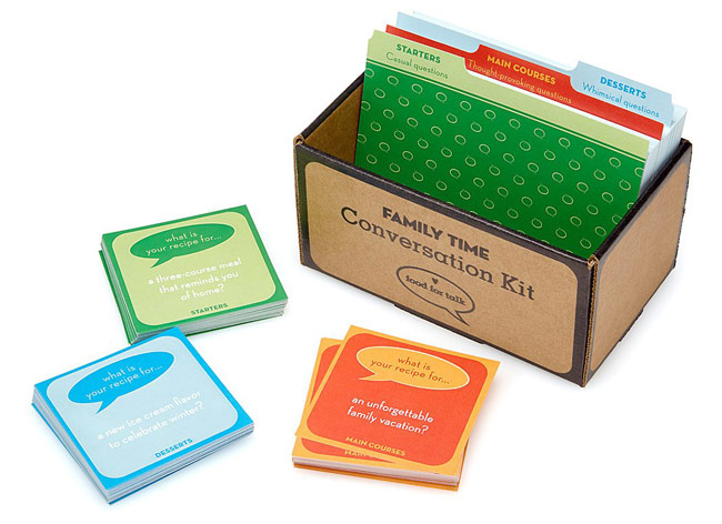 Family Time Conversation Kit | UncommonGoods