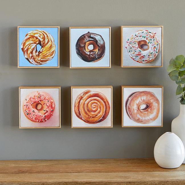 Doughnut Art Portrait | UncommonGoods