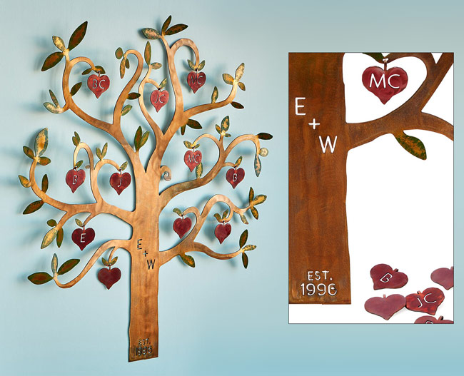 Personalized Family Tree Wall Sculpture | UncommonGoods