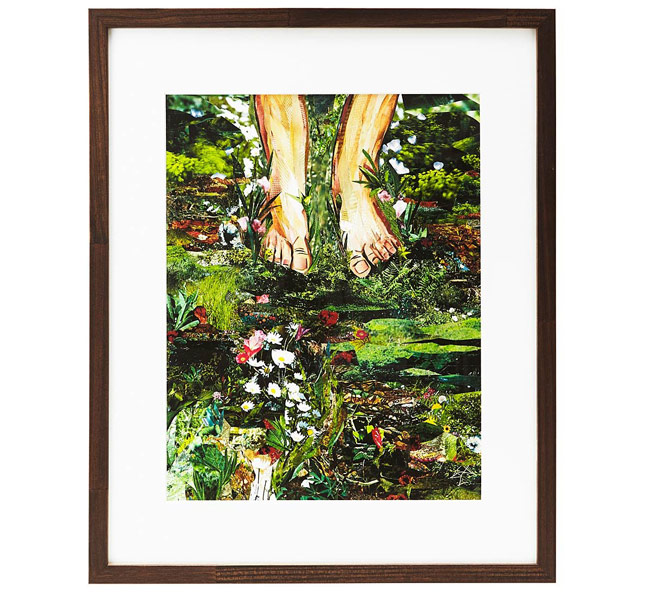 Barefoot in the Meadow Collage | UncommonGoods