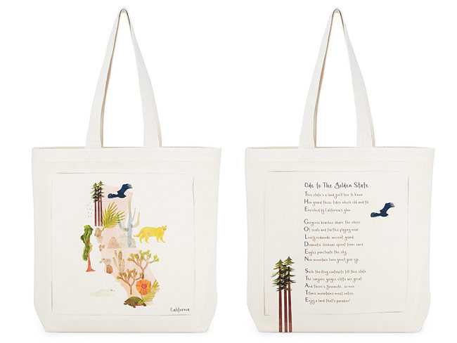 Ode to Home State Tote Bag | UncommonGoods