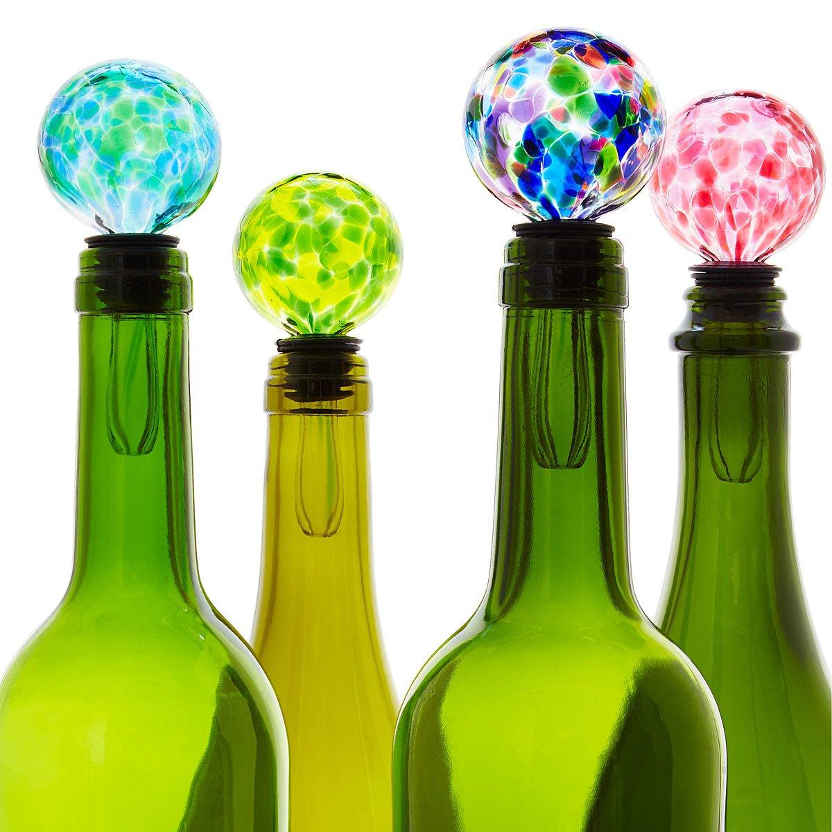 Birthstone Wine Bottle Stopper | UncommonGoods