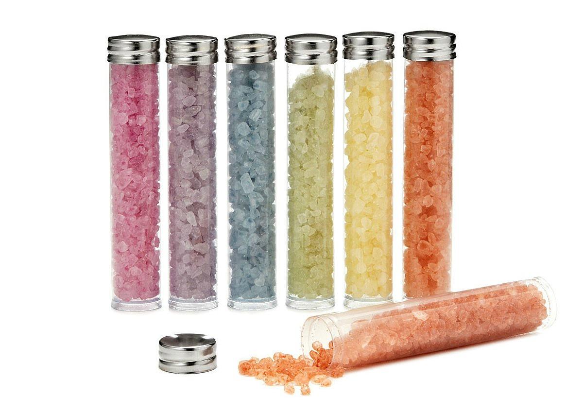 Chakra Bath Salts Set | UncommonGoods