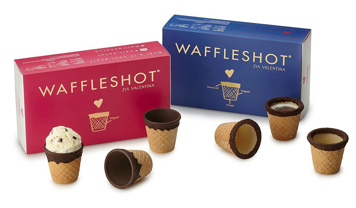 Chocolate Waffle Shots | UncommonGoods