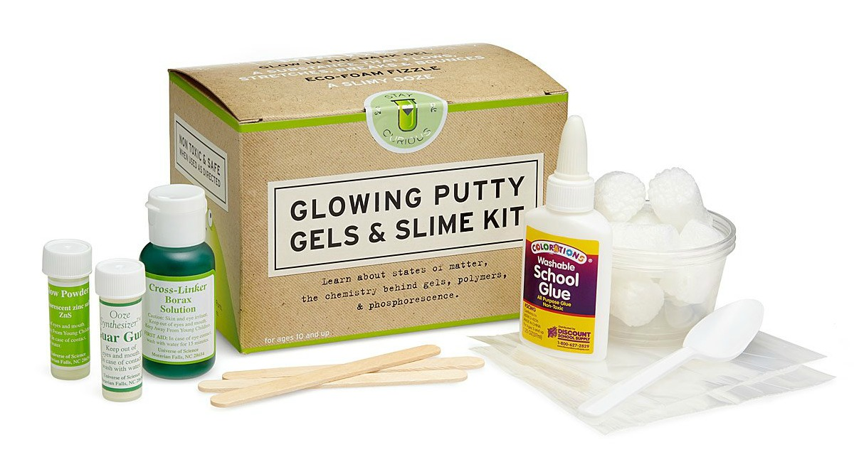 Make Your Own Slime Putty Clay Box Kids Toy Christmas Xmas Gift Play Lab Kit Set