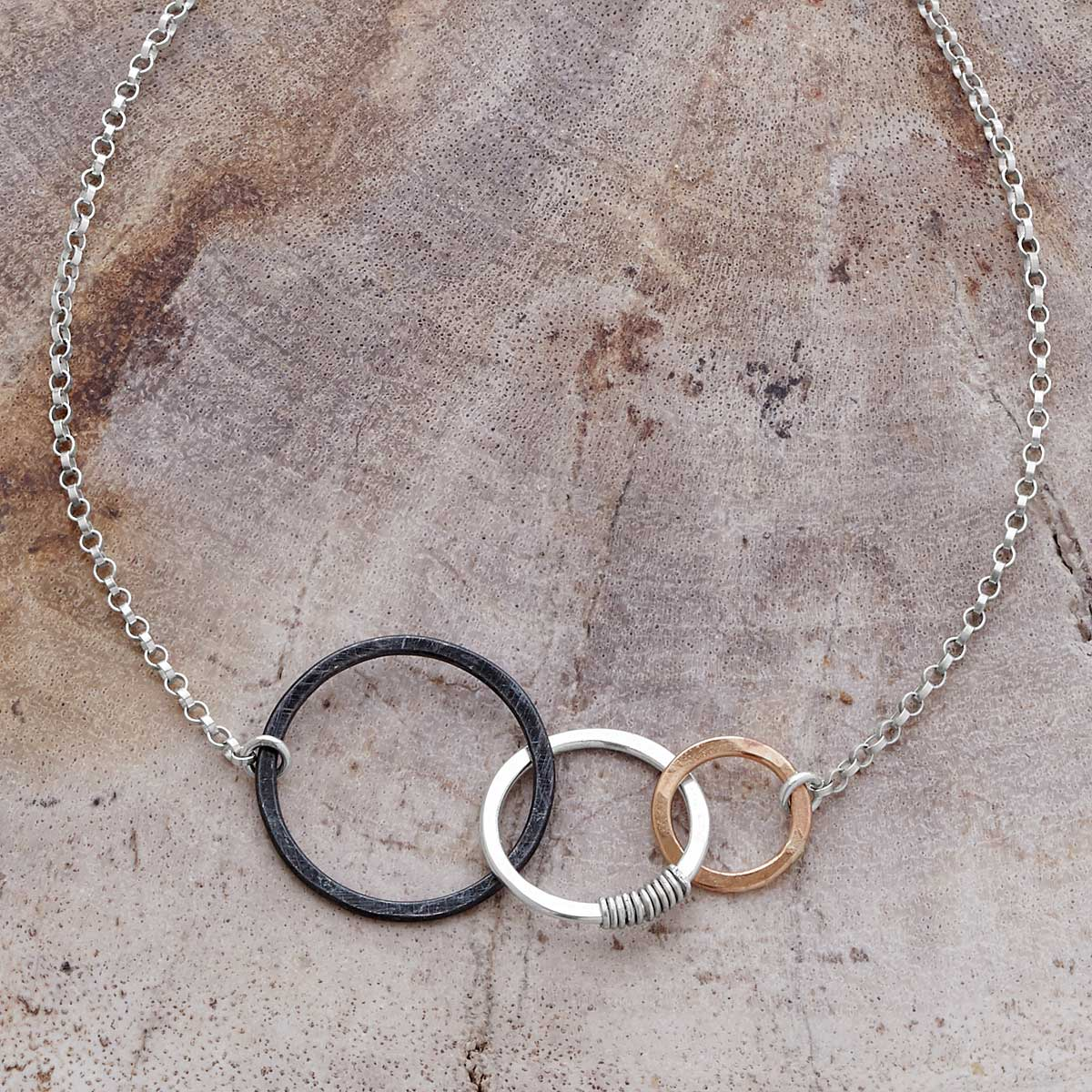 Past Present and Future Necklace | UncommonGoods
