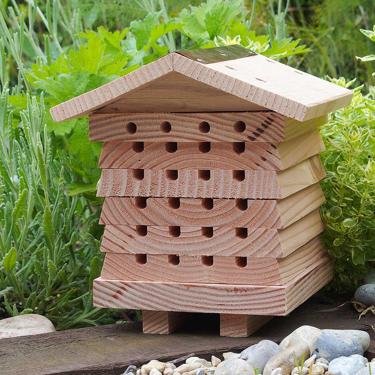 Solitary Bee Hive | UncommonGoods
