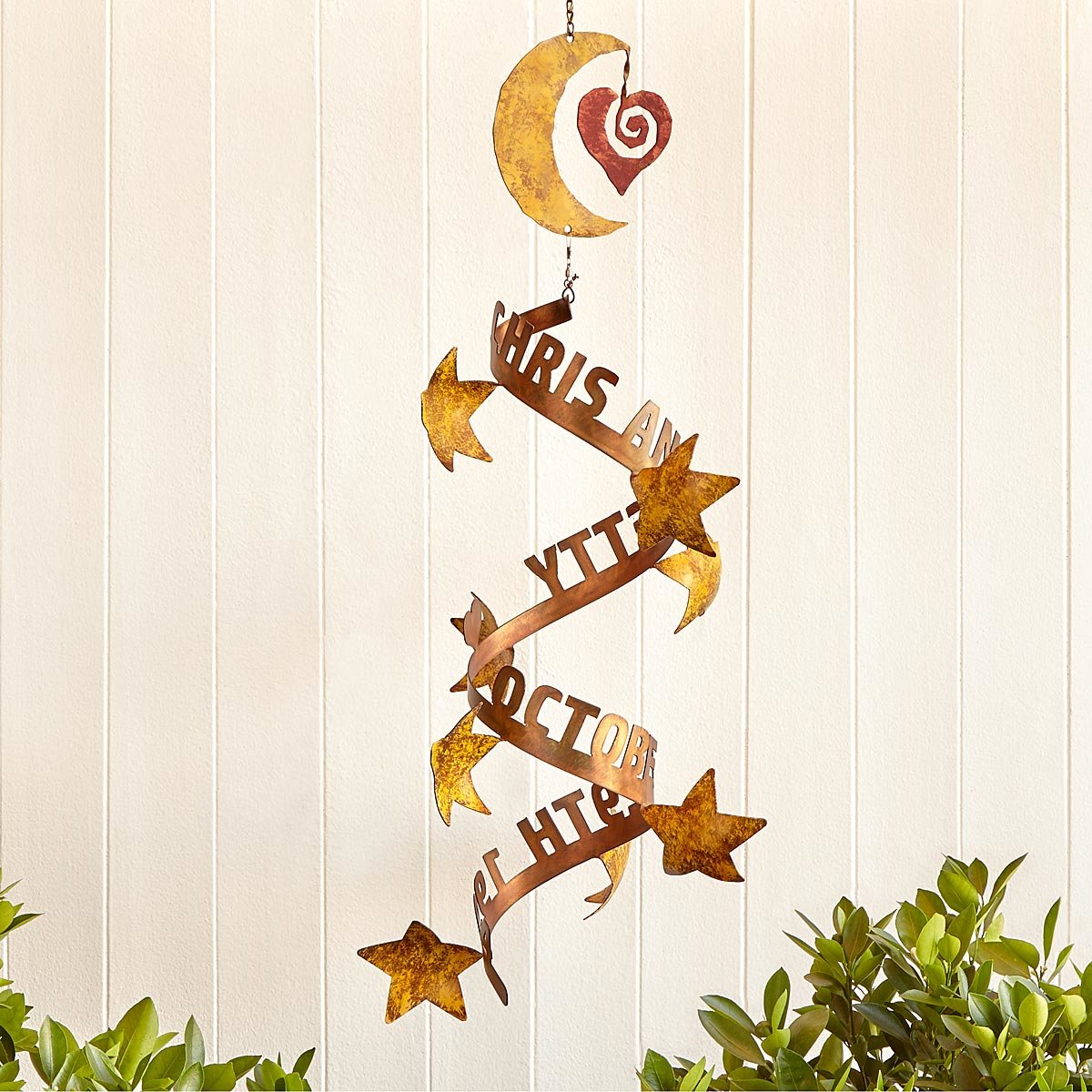 Stars Aligned Personalized Wind Sculpture | UncommonGoods