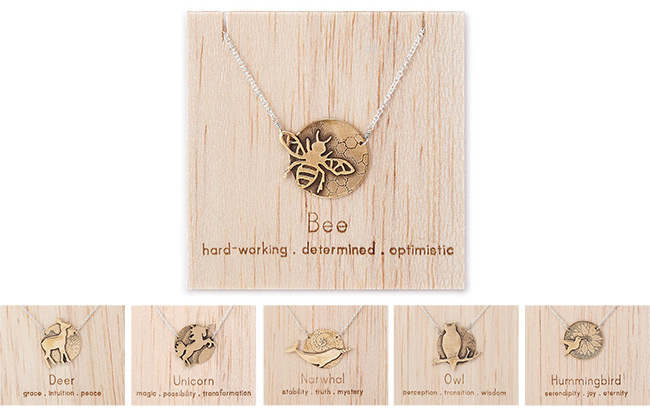 Kindred Animal Necklaces | UncommonGoods